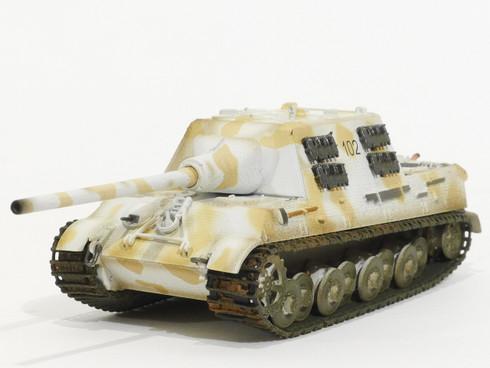 Easy Model Jagdtiger German Tank  1:72 Scale Fully Assembled Model Item No. 36115