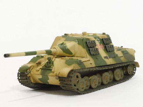 Easy Model Jagdtiger German Tank World War I1:72 Scale Fully Assembled Model Item No. 36112