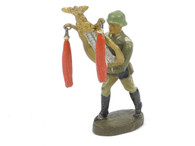Elastolin German Marching Musician Composition Toy Soldier Rare