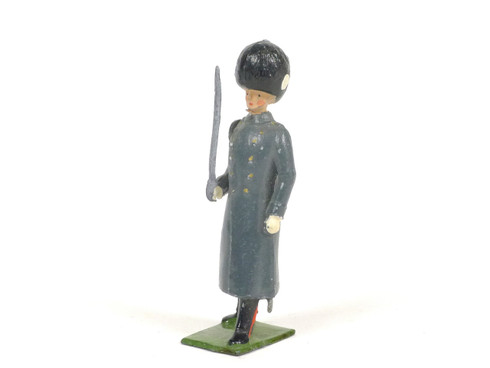 Britains 312 Grenadier Guard Winter Overcoat With Drawn Sword