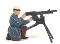 Britains 9366 French Foreign Legion Machine Gunner