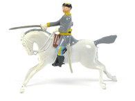 Britains 2055 Confederate Cavalry Officer with Outstretched Sword