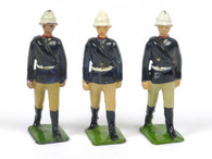 Britains 3 Walking Gunners with White Sun Helmets