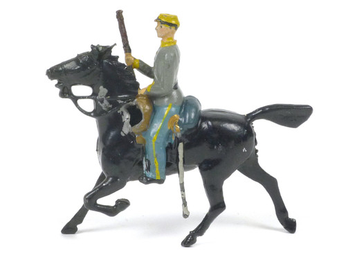 Britains 2055 Confederate Cavalry Trooper Holding Carbine