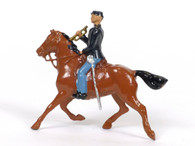 Britains 2056 Union Cavalry Trumpeter Riding Aide-De-Camp Horse