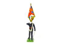 W Britain 5291 The Honourable Artillery Company Colour Bearer Queens Colour