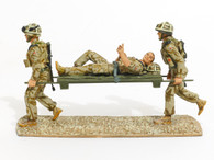 WBritain Toy Soldiers 10027 Help of Heroes Modern British Army Stretcher Bearer Set  2007