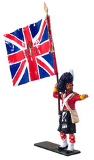 W Britain Redcoats 44014 Ensign 93rd Highlanders Queen's Colour