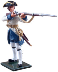 W Britain Redcoats 47044 Compagnies franches de la Marine Standing Firing
