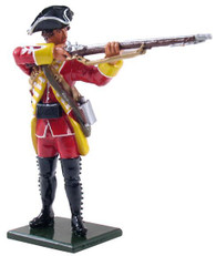 W Britain Redcoats 47045 British 35th Regiment of Foote Company Standing Firing