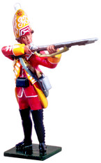 W Britain Redcoats 47025 British 35th Regiment Grenadier Standing Firing