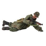 W Britain 25042 U S 101st Airborne Infantry Prone