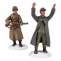 "W Britain 25034 U S Infantry with M-1 ""Keep Your Hands Up"""