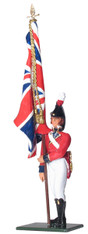 W Britain 43141 Ensign King's 4th Regiment of Foot 1810-1815