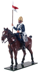 W Britain 44043 Trooper Mounted 17th Lancers 1879