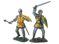 W Britain 17729 French Foot Knight Set No.1 Medieval Knights