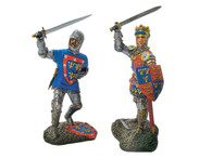 W Britain 17809 John, Duke of Alencon and Henry V Sword Raised