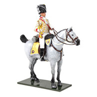W Britain 47059 British 10th Light Dragoons Trumpeter Mounted 1795