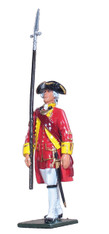 W Britain 47000 British Officer 15th Regiment of Foot 1754-1763