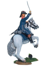 W Britain 17885 French 1st Light Infantry Mounted Officer Set No.1