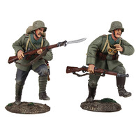"W Britain 23097 German Infantry Assault Team ""Attack"" 1916-1918"
