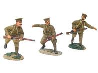 W Britain 17807 British 4th Battalion 1st Royal Fusiliers Advancing Set No.1