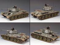 King & Country WS199 Nazi T34/76 German Version Tank LE250