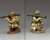 King & Country DD251 Kneeling Bazooka Guy American Paratrooper