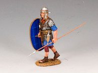 King & Country LOJ015 Walking Auxiliary with Spear and Shield