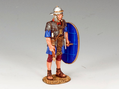 King & Country LOJ013 Standing Roman Auxiliary with Shield