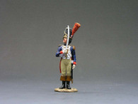 King & Country NA062 Guard Officer Saluting Age of Napoleon