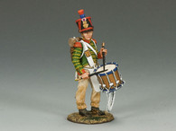 King & Country NA231 French Line Drummer Age of Napoleon