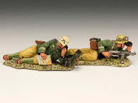 King & Country AK082 Afrika Korps Observation Team World War II