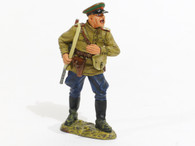 World War II Fall of Berlin Shouting Red Army Officer Collectible Soldier RA016