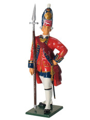 W Britain 43007 Grenadier Officer 1st Foot Guards 1755