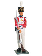 W Britain 43024 Private 2nd Coldstream Foot Guards 1822