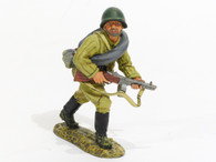 World War II Fall of Berlin Red Army Soldier Charging Collectible Soldier RA017