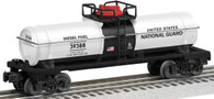 Lionel 6-39388 U.S. National Guard made in USA Tank Car O Scale