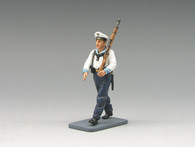 King & Country LAH093 Seaman Marching with Rifle World War II