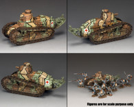 King & Country FW146 Renault FT-17 French Tank World War I Retired
