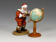 King & Country XM015 Santa & His Globe