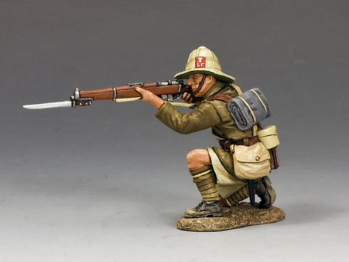 King & Country ME002 Kneeling Firing Lancashire Fusiliers Middle East Campaign