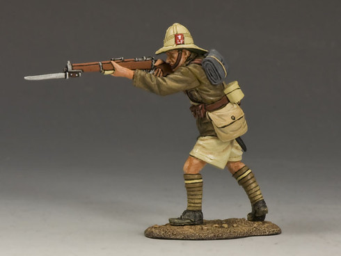 King & Country ME003 Standing Firing Rifle Lancashire Fusiliers Middle East Campaign