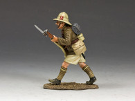 King & Country ME005 Advancing Firing Rifle Lancashire Fusiliers Middle East Campaign