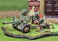 Collectors Battlefield CBB064 British 1st Airborne 6 Pound AT Gun