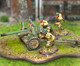 Collectors Battlefield CBA049 327th GIR 57mm Anti-Tank Gun