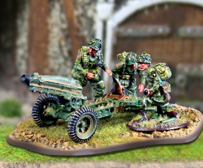 Collectors Battlefield CBA040 101st Airborne Pack Howitzer Team
