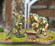 Collectors Battlefield CBA048 327th GIR Mortar Team