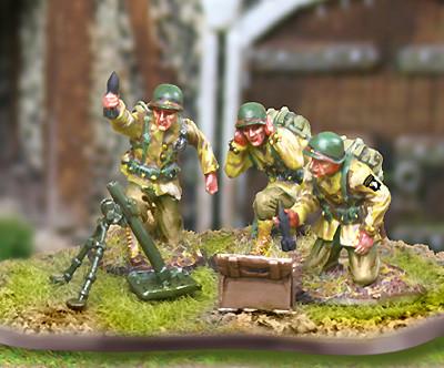 Collectors Battlefield CBA048 327th GIR Mortar Team