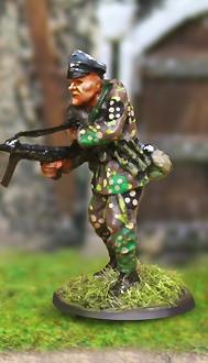 Collectors Battlefield CBG013 SS Panzergrenadier Scharfuhrer Gottke